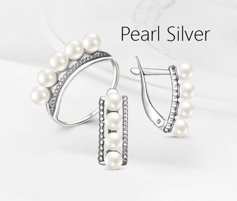 Collection «Pearl silver»